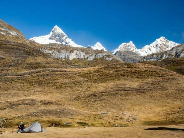 Departing from Huayhuash Camp