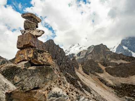 4,830m at Siula Pass