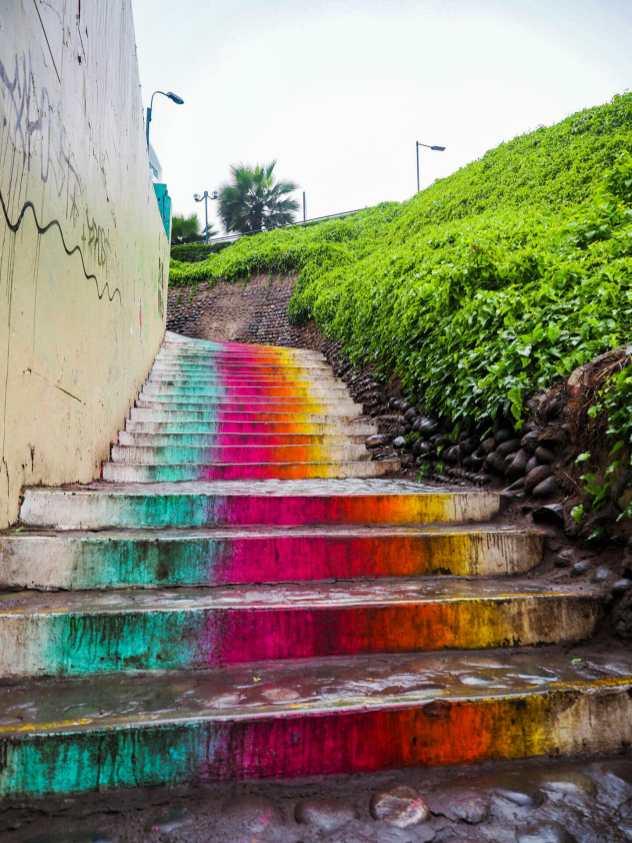 Street art in Miraflores