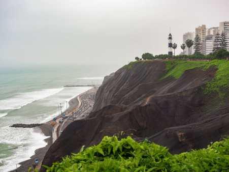 Grey day in Miraflores