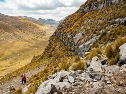 Approaching Cacananpunta