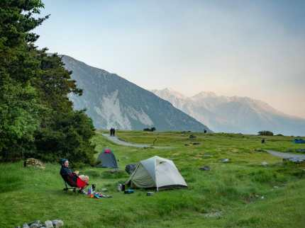 Camping at White Horse Hills