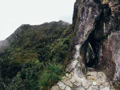 Amazing Inca stonework along the Inca Trail