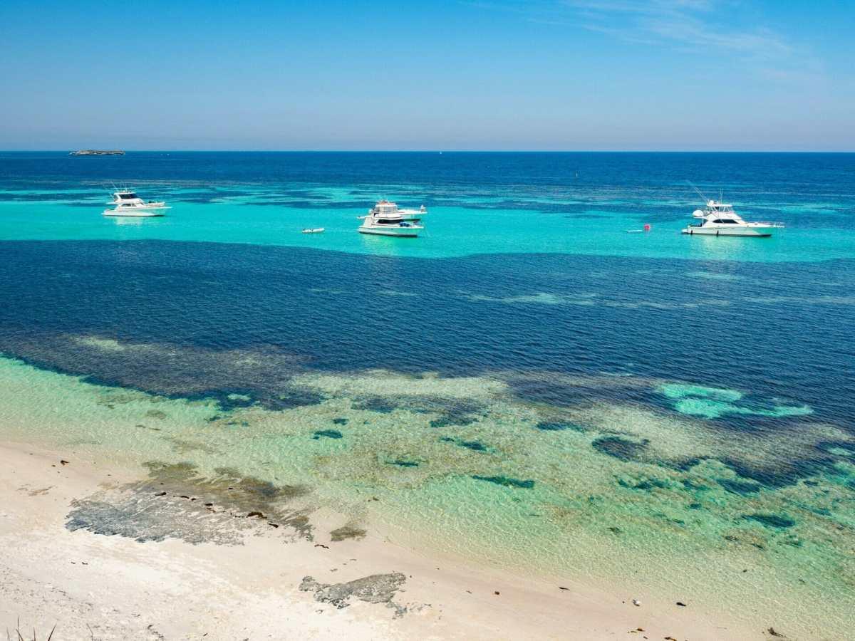 Beach Rottnest Island Perth Western Australia