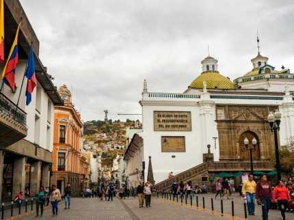 Plaza de la Independencia in Quito