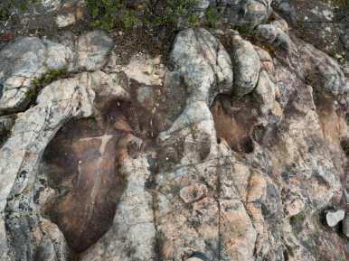 Rocky terrain