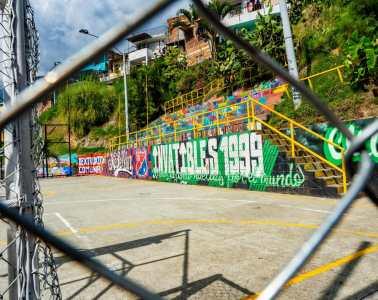 Graffiti Medellín Colombia