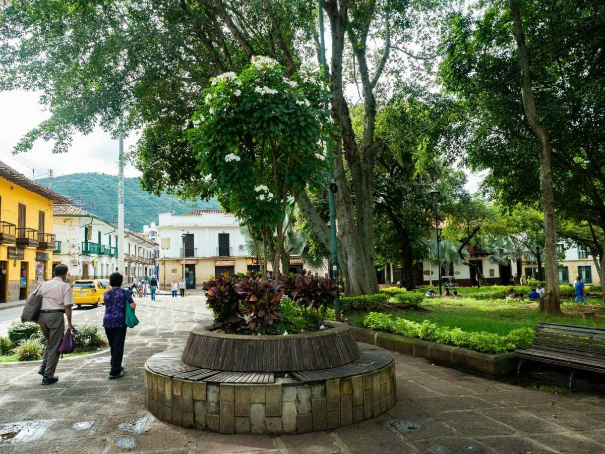 Parque La Libertad in San Gil