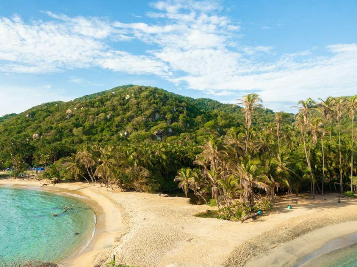Cabo San Juan beach in Tayrona National Park Colombia