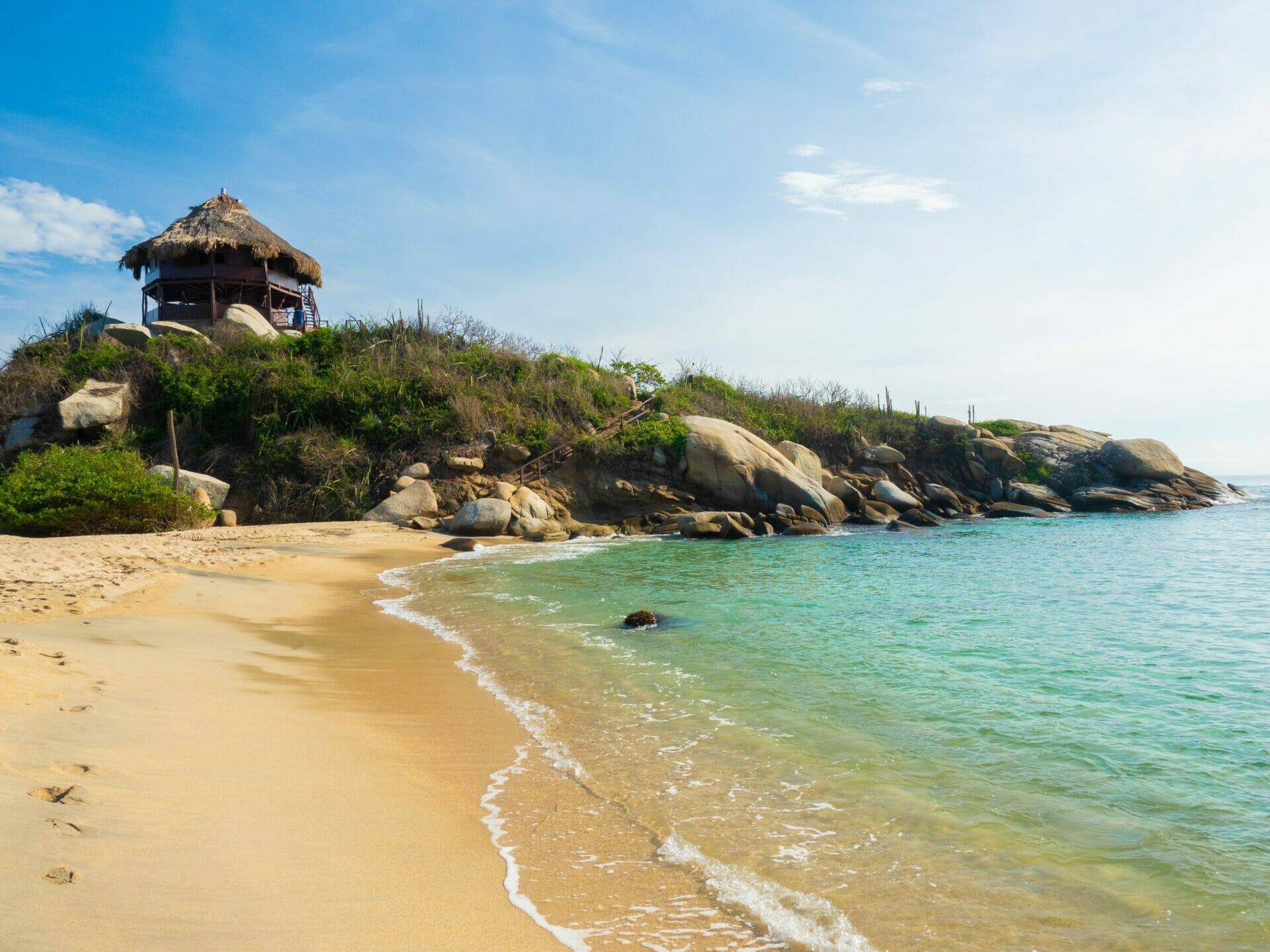 El Mirador, Cabo San Juan beach Parque Tayrona