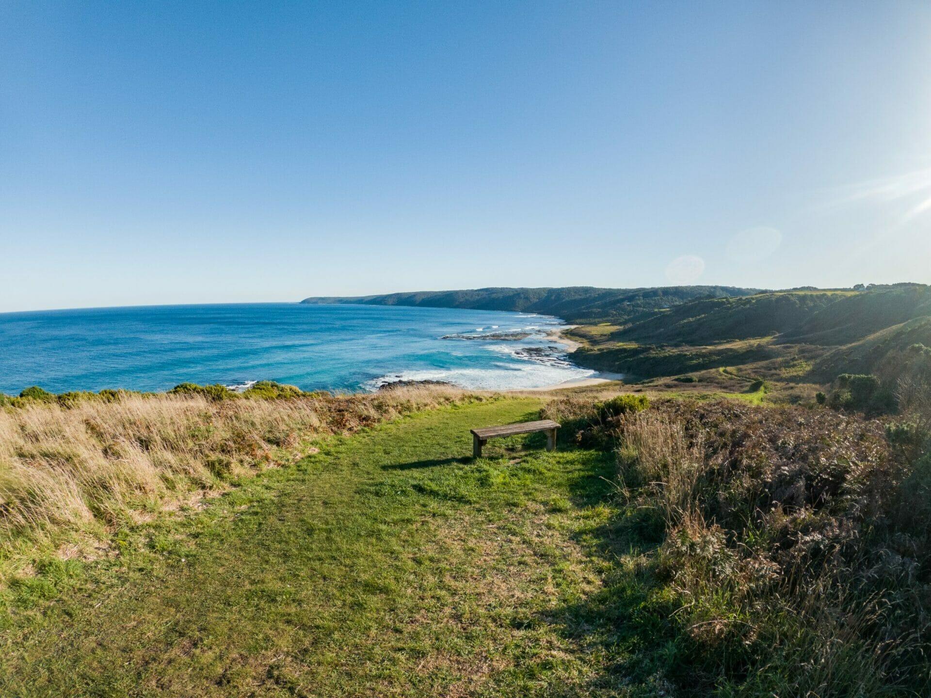 Great Ocean Walk hike Australia beach