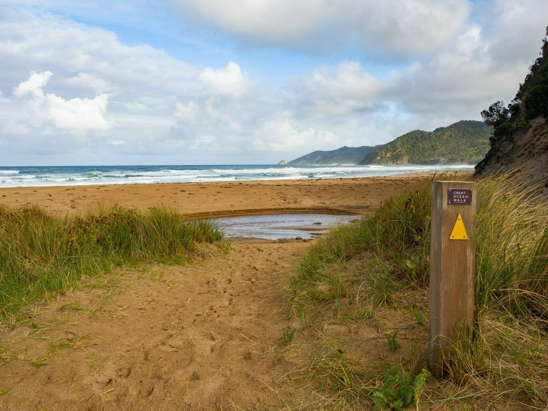 Great Ocean Walk hike Milanesia Beach