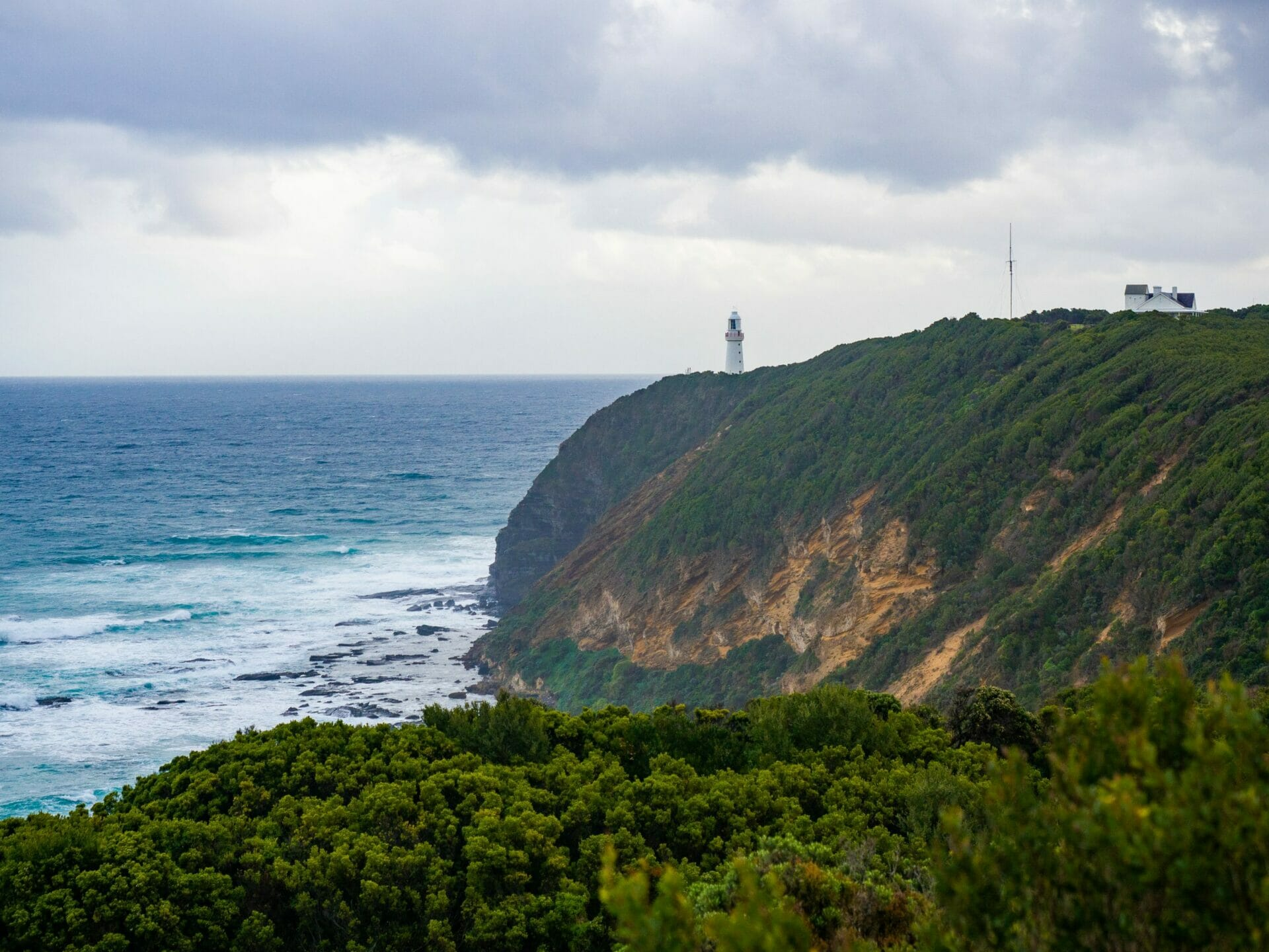 Great Ocean Walk hike Australia Cape Otway lighthouse