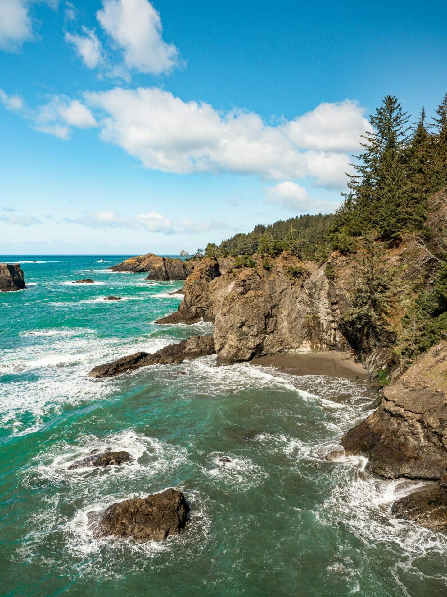 Oregon Coast secret beach vanlife diaries Brooke Around Town