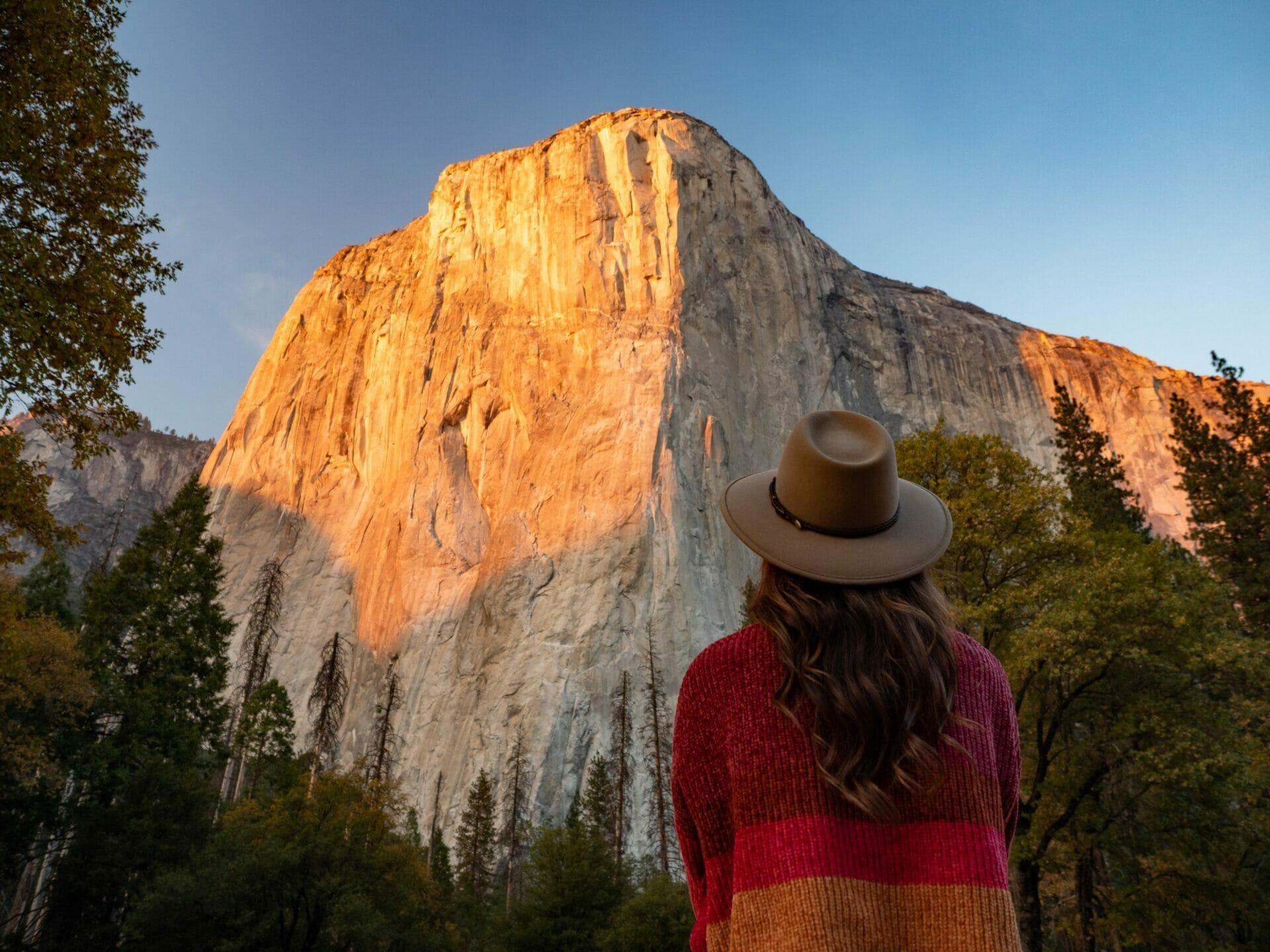 Yosemite National Park 1-day itinerary best views hikes