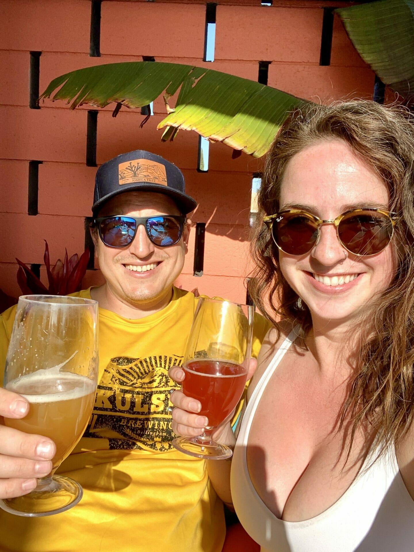 vanlife LA SoCal Brewery Modern Times Brooke Around Town