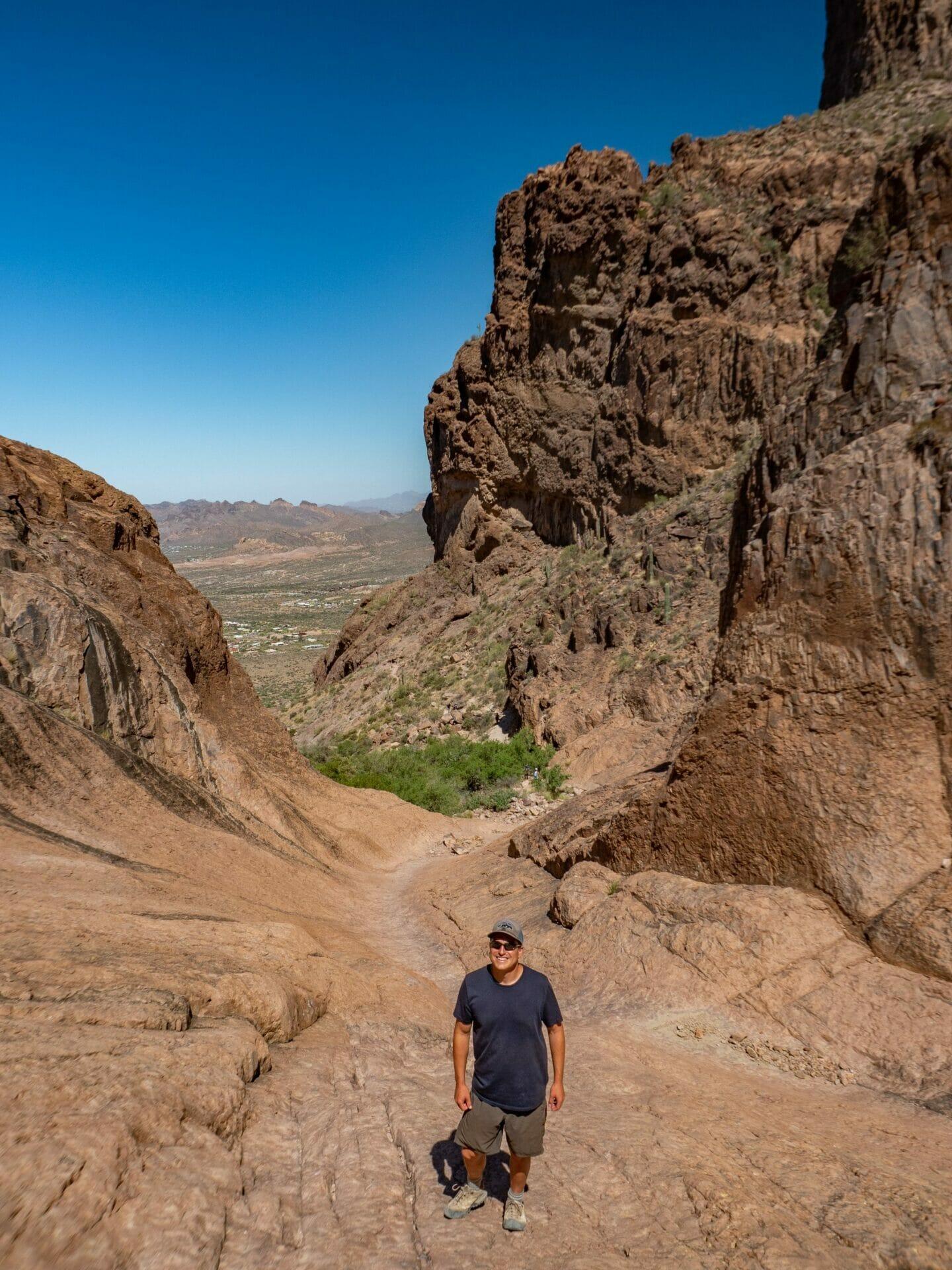 Superstition Mountains Phoenix Arizona Flat Iron Siphon Draw