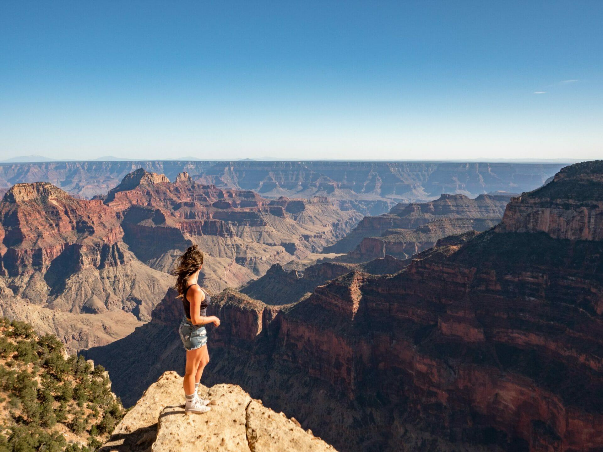 Grand Canyon North Rim hike North Kaibab