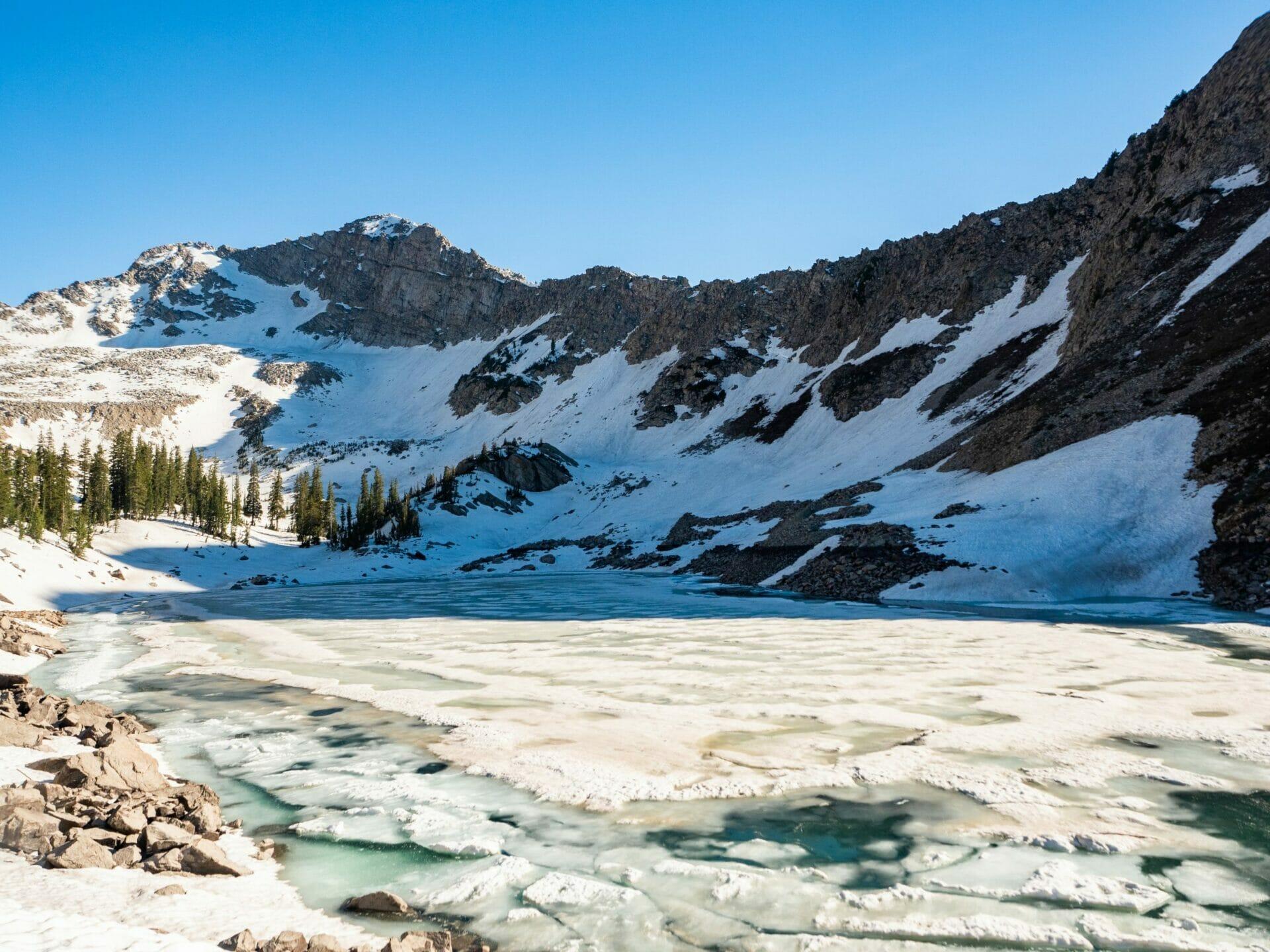 White Pine Lake hike Salt Lake City Wasatch Mountains