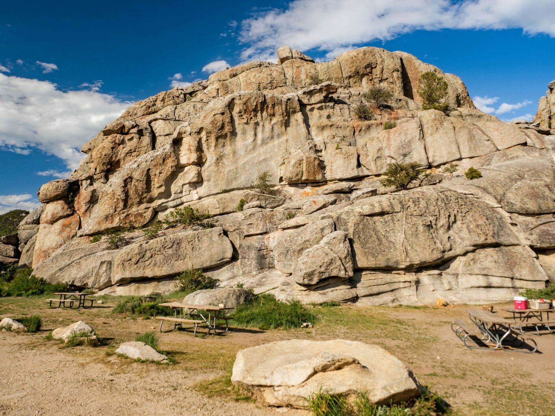 City of Rocks National Reserve Idaho rock climbing