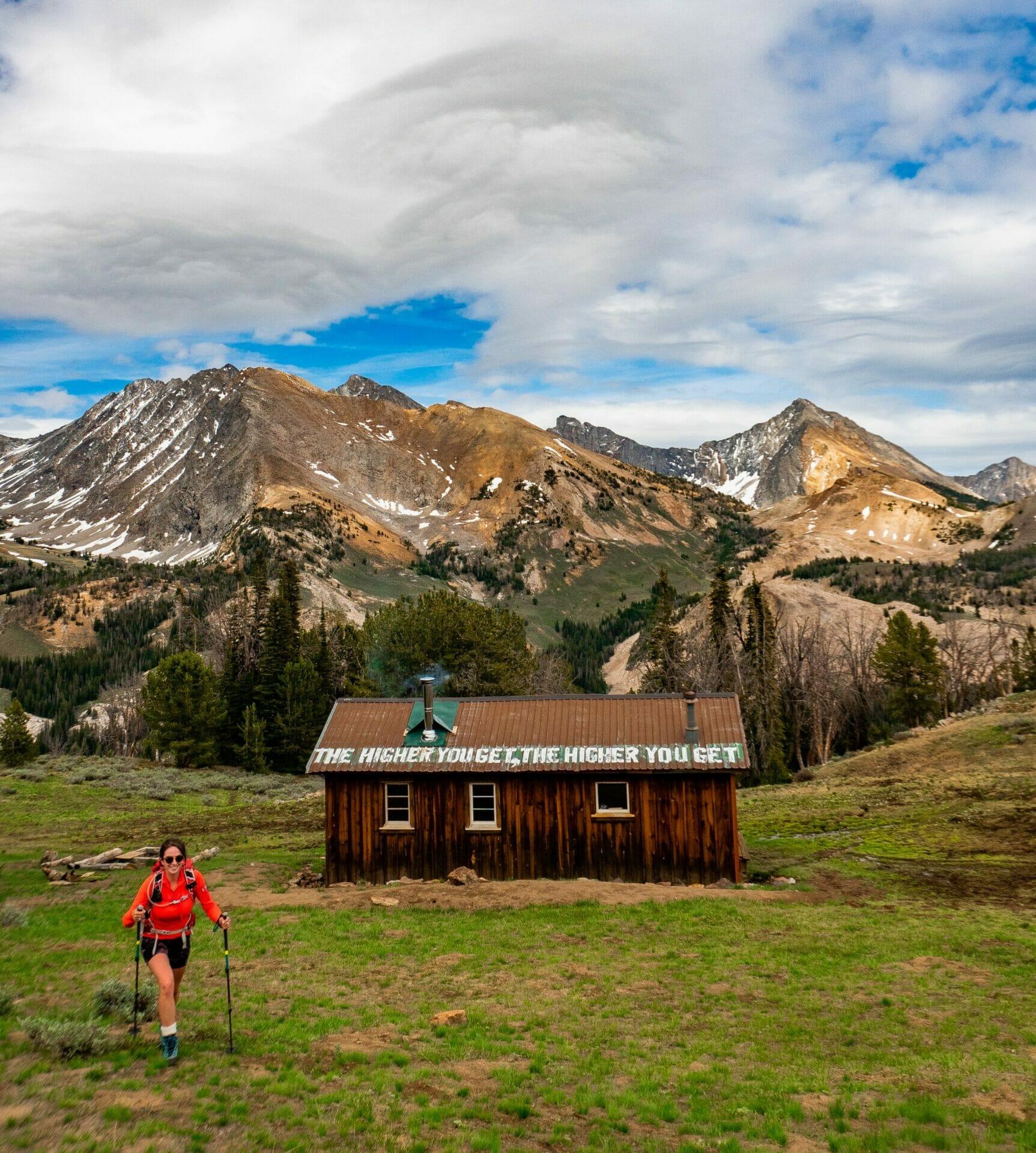Pioneer Cabin hike Ketchum Idaho