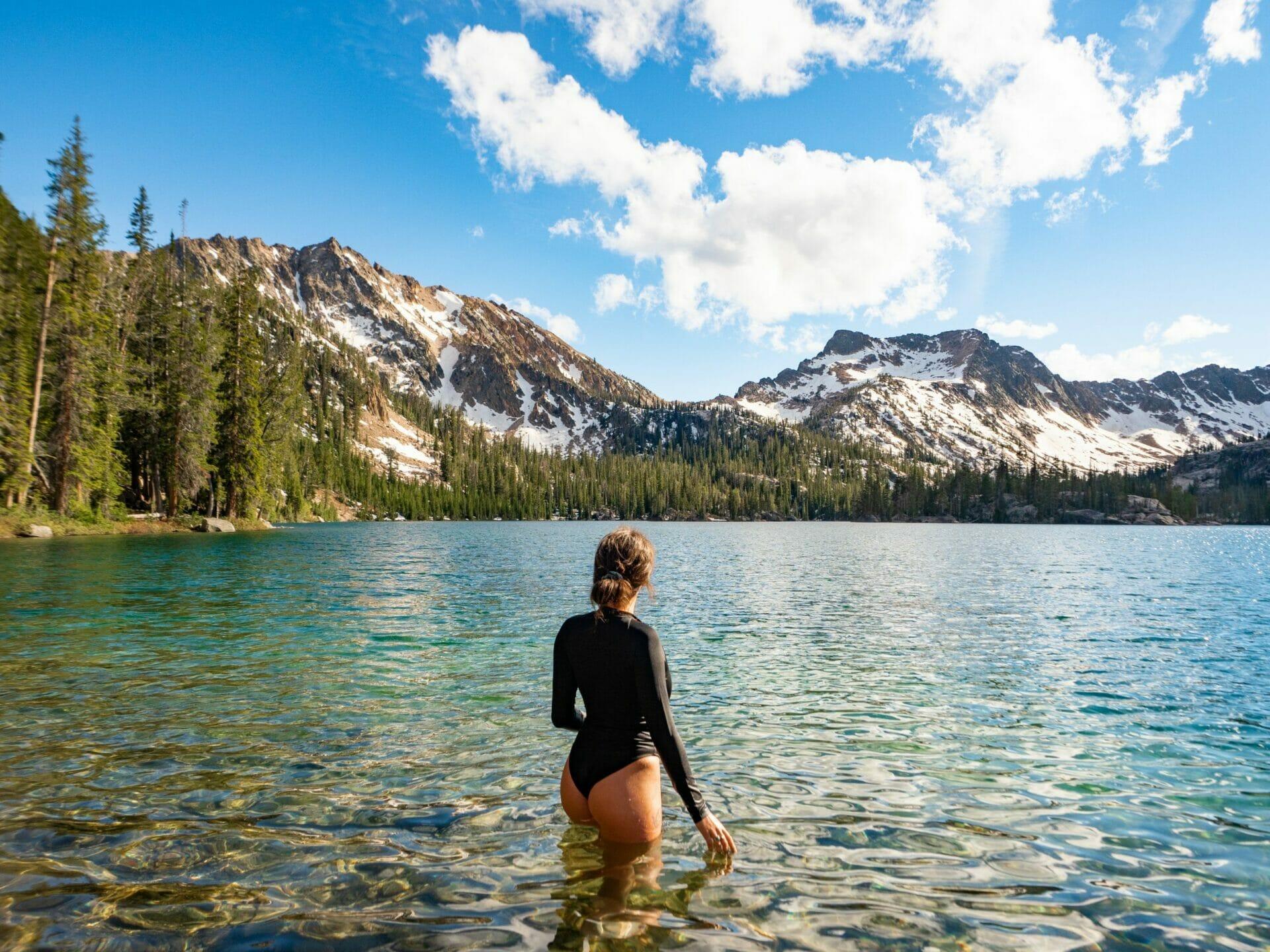 Stanley Idaho Sawtooth Mountains best hikes Imogene Lake