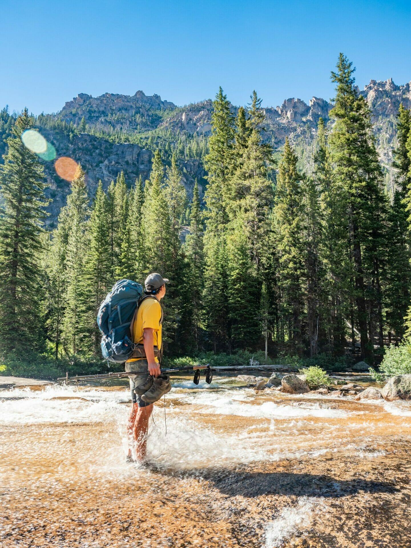 Baron Cramer Lakes backpacking best hikes Sawtooth Mountains Idaho