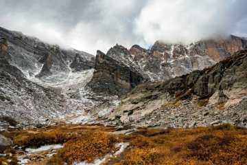 Rocky Mountain National Park Longs Peak Chasm Lake hike