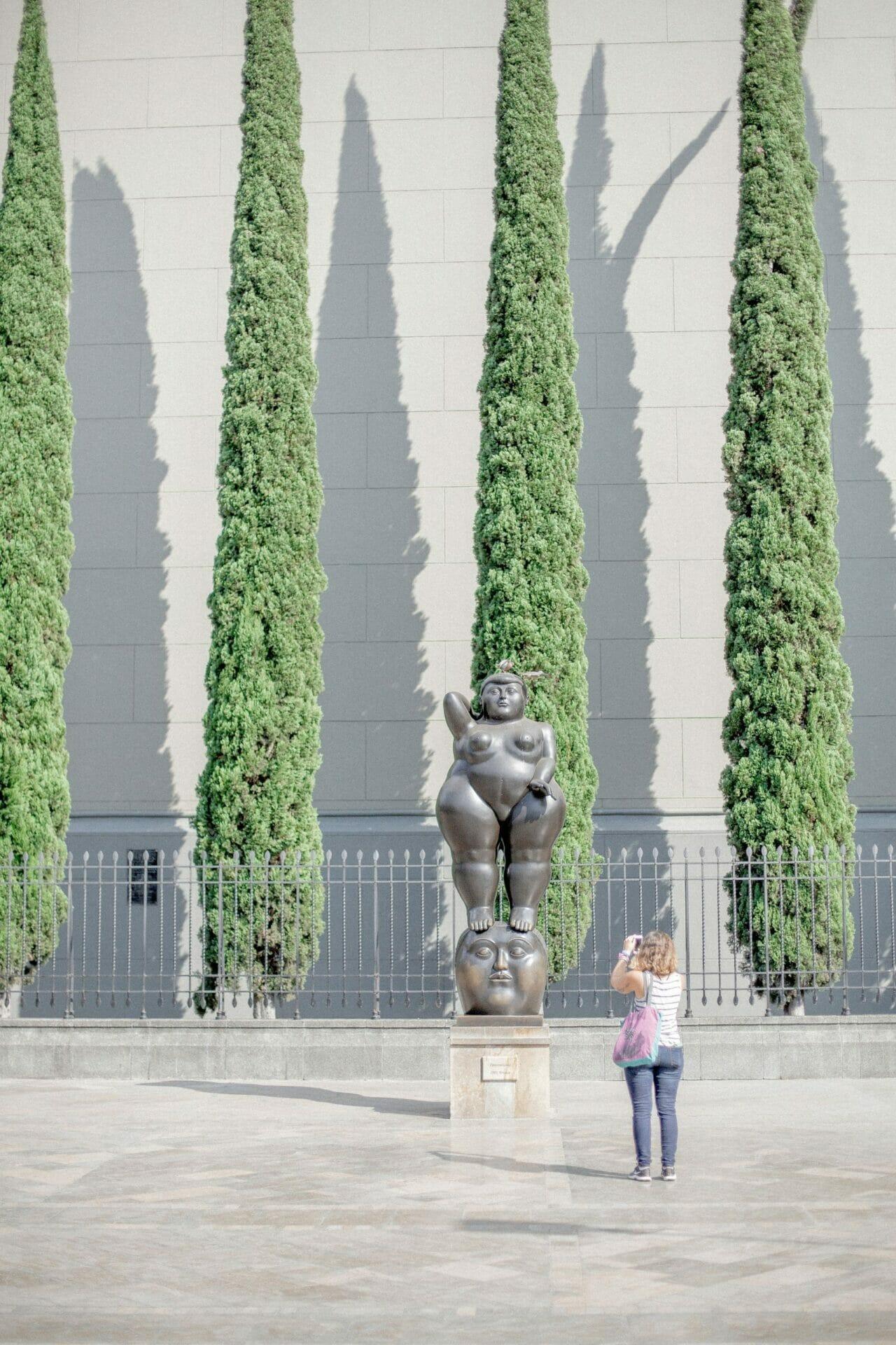 Botero statue Medellín Colombia