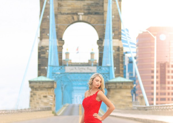 cincinnati suspension bridge photo