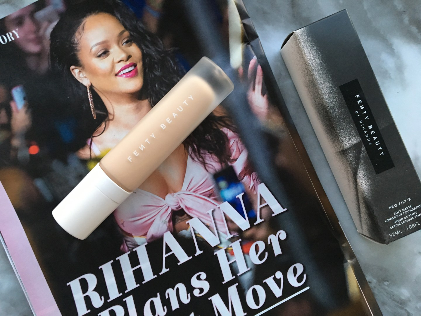 REVIEW: Fenty Beauty Pro Filt'r Soft Matte Longwear Foundation