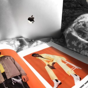 feature image for DA post - apple MacBook and asos magazine