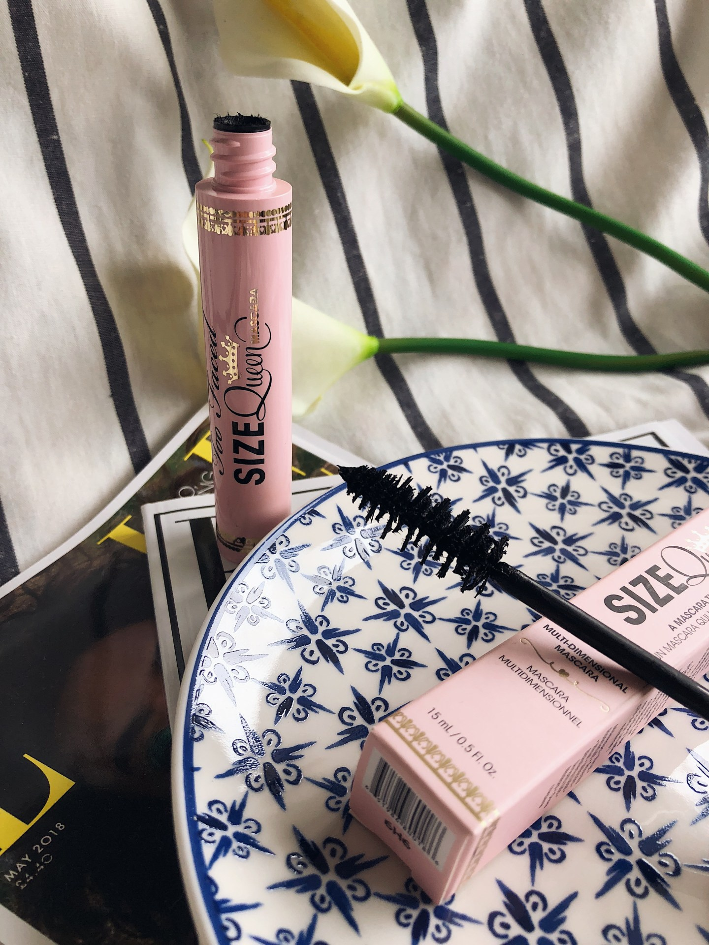 May 2018 Look Incredible Deluxe Subscription Box - Too Faced Queen Sized Mascara