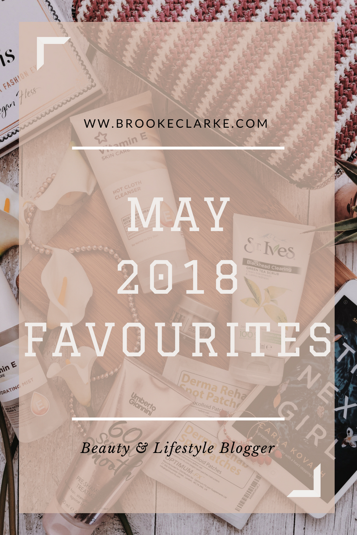 May 2018 Favourites Pinterest pin