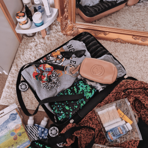 Packing For A Long Weekend Away...