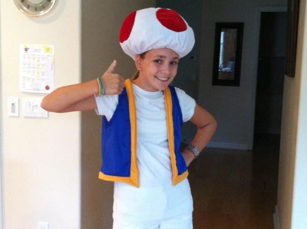 Toads Halloween Costume