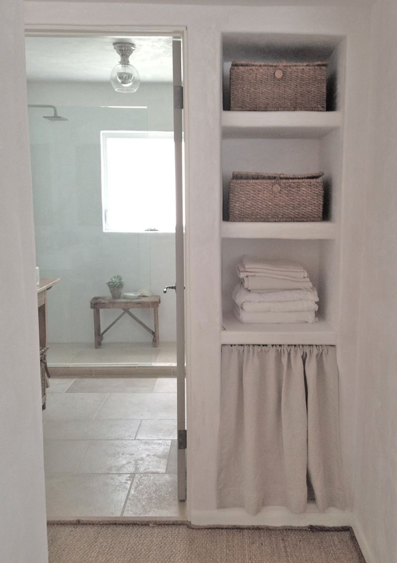 a few new additions to our oxnard bathroom and some questions answered  Velvet  Linen