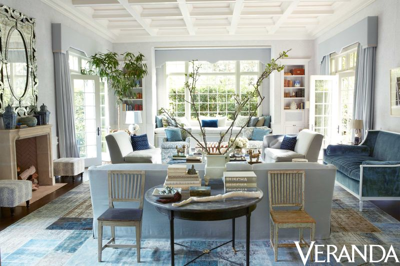 a windsor smith  steve giannetti collaboration featured on the cover of veranda magazine