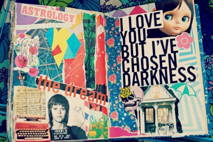 collage journal art brooke gibbons