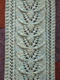 PATTERNS TO KNIT SCARVES  Free Patterns