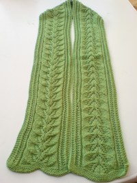 FREE KNIT PATTERN FOR SCARF