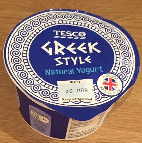 Recipes using Greek Yoghurt