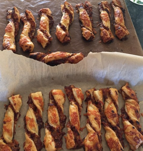 Caramelised Onion Cheese Straws