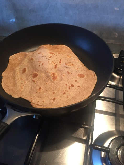 Yoghurt-Free Wholemeal Flatbreads