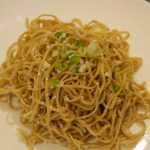 Ginger and spring onion noodles