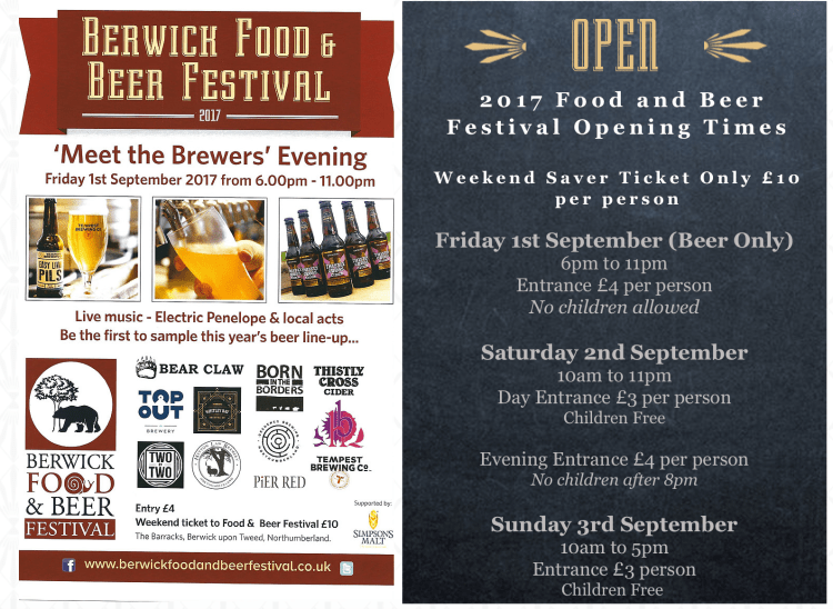 Berwick Food and Beer Festival