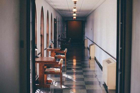 the harry potter hallway.