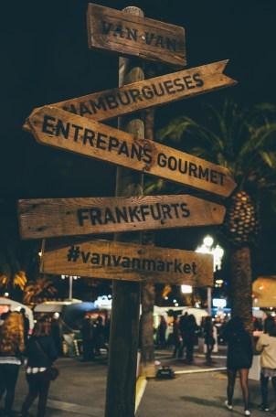 One of the best events of the trip! VANVAN gastronomic market!