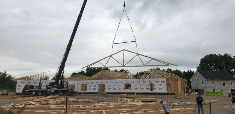 Roof trusses2