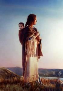 Sacagawea by Robert Schoeller
